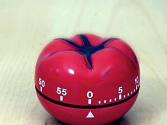 Czasomierz w kształcie pomidora,
