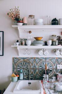 Terakota w kuchni fot. Daria Shevtsova